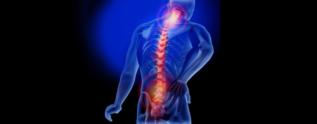 back spine injury agile pt